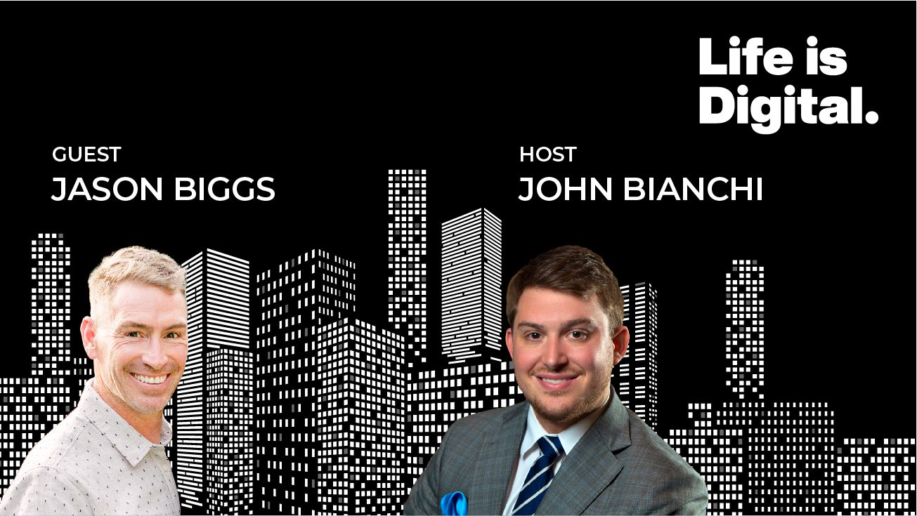 Life is Digital Podcast Guest Jason Biggs BOS Digital Chief of Sales