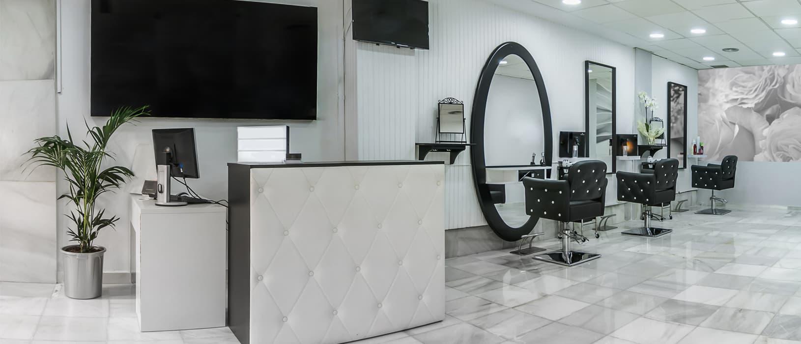 upscale hair salon